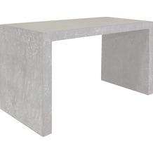 fleur ami DIVISION Konsole natur-beton L 102 cm B 50 cm H 60 cm