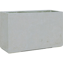 fleur ami DIVISION PLUS Raumteiler, 100x35/60 cm, natur-beton (X=ohne Rollenaufnahme)