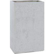 fleur ami DIVISION PLUS Raumteiler, 60x35/100 cm, natur-beton (X=ohne Rollenaufnahme)