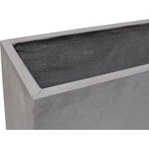 fleur ami DIVISION PLUS Raumteiler, 90x25/70 cm, natur-beton