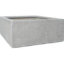 fleur ami DIVISION PLUS Würfel, 100x100/40 cm, natur-beton (X=ohne Rollenaufnahme)