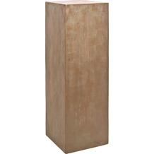 fleur ami Podest Pedestal, 35x35/120 cm, verdigris bronze