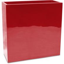 fleur ami PREMIUM BLOCK Raumteiler, 40x90/90 cm, rubinrot