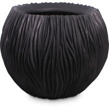 fleur ami RIVER Pflanzgefäß, 75/60 cm, schwarz