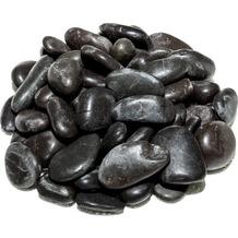 TINGO LIVING ROCKS Flusskiesel, 2-4 cm, schwarz, 5 kg