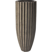 fleur ami SAHARA Pflanzgefäß, 40/100 cm, black stripes