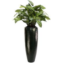 fleur ami SETS PREMIUM, LOFT , 30/80 cm, black diamond, CALATHEA Kunstpflanze, 80 cm