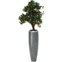 fleur ami SETS PREMIUM, LOFT , 31/100 cm, aluminium, PITTOSPORUM Kunstpflanze, 120 cm