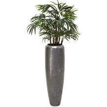 fleur ami SETS PREMIUM, LOFT , 31/100 cm, aluminium, RHAPIS PALME DELUXE Kunstpflanze, 100 cm