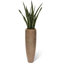 fleur ami SETS PREMIUM, LOFT , 31/100 cm, verdigris bronze, SANSEVIERIA EXTRA 100 cm