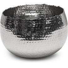 fleur ami TAZA Schale, 21x21/13,5 cm, Aluminium poliert