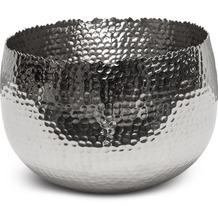 TINGO LIVING TAZA Schale, 28x28/19 cm, Aluminium poliert