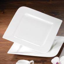 flirt Frühstücksteller 22cm flach Fan-tastic, weiß