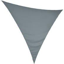 """Floracord HDPE Dreiecksonnensegel mit Licht LED """"weiß"""" 360 x 360 x 360 cm in grau"""