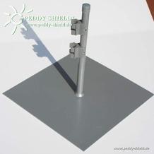 Floracord Paravent Fußplatte 35 cm x 35 cm
