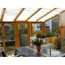 Floracord Sonnensegel Hell Elfenbein 275 x 96 cm + 26 x LH + 2 x Stopper
