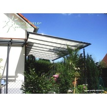 Floracord Sonnensegel Hell Elfenbein 380 x 96 cm + 40 x LH + 2 x Stopper