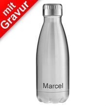 FLSK Isolierflasche MIT GRAVUR (z.B. Namen) 350 ml Edelstahl