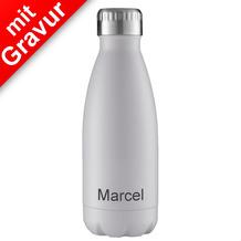 FLSK Isolierflasche MIT GRAVUR (z.B. Namen) 350 ml White