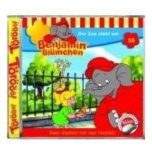 Benjamin Blümchen 038. Der Zoo zieht um. CD Hörspiel