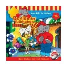 Benjamin Blümchen 070. und Bibi in Indien. CD Hörspiel
