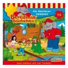 Benjamin Blümchen 113. Der Abenteuer-Spielplatz. CD Hörspiel
