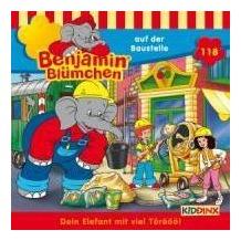 Benjamin Blümchen 118 ... auf der Baustelle Hörspiel
