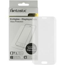 Fontastic Curve Schutzglas (gebogen) 1 Stück für Samsung Galaxy S6 Edge
