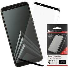 Fontastic Full Cover Schutzglas Schwarz komp. mit Samsung Galaxy A6+ (2018)