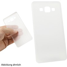 Fontastic Hardcover Frost 0.3mm transparent/milchig für Samsung Galaxy A3 (2015)