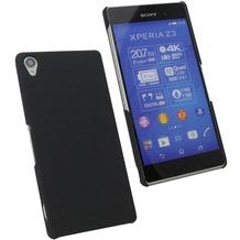 Fontastic Hardcover Pure schwarz für Sony Xperia Z3