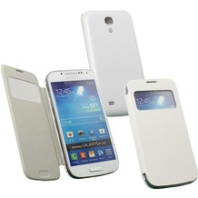 Fontastic Hardcover Window Plus creme für Samsung Galaxy S4 Mini