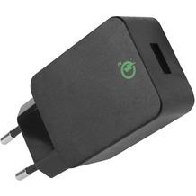 Fontastic Netzteil Quick 3.0 USB schwarz Quick Charge 3.0 Klasse A