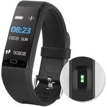 Fontastic Prime Bluetooth Smartwatch FontaFit 140CH schwarz Pulsmessung, Schritte, Kalorien, Push-Nachrichten