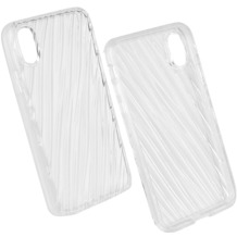 Fontastic Prime Cover TPU Clear Extra komp. mit Apple iPhone X