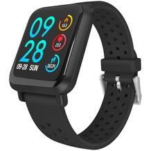 Fontastic Prime Smarte Armbanduhr FontaFit 440CH Tavi schwarz Metallgehäuse, Sport Modi, Dynamischer Puls, IP68