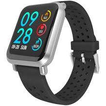 Fontastic Prime Smarte Armbanduhr FontaFit 440CH Tavi silber Metallgehäuse, Sport Modi, Dynamischer Puls, IP68