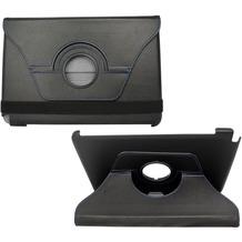 Fontastic PU Tasche Diary mit rotation schwarz für Samsung Note 10.1 N8000