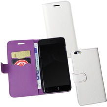 Fontastic PU Tasche Diary Noma weiß für Apple iPhone 6+/6s+