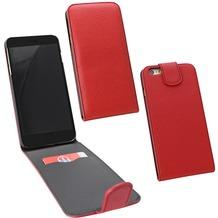 Fontastic PU Tasche Flip Noma weinrot für Apple iPhone 6+/6s+