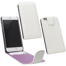 Fontastic PU Tasche Flip Noma weiß für Apple iPhone 6/6s
