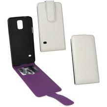 Fontastic PU Tasche Flip Noma weiß für Samsung Galaxy S5 Mini