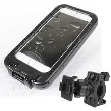 Fontastic Schutzhülle Splash+ inkl Fahrradhalterung schwarz 137.5x72x11.50mm (4.7 Zoll)