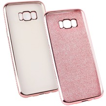 Fontastic Softcover Clear Diamond Ultrathin rosegold komp. mit Samsung Galaxy S8