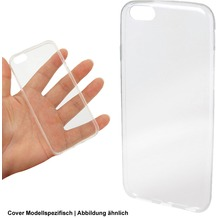 Fontastic Softcover Clear Ultrathin komp. mit Sony Xperia XA1 Ultra