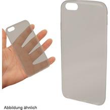 Fontastic Softcover Clear Ultrathin rauchschwarz für Samsung Galaxy S6
