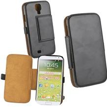 Fontastic Tasche Diary schwarz für Samsung Galaxy S4