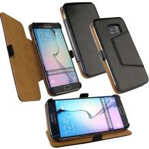 Fontastic Tasche Diary schwarz für Samsung Galaxy S6 Edge