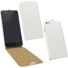 Fontastic Tasche Flip weiß für Apple iPhone 6+/6s+