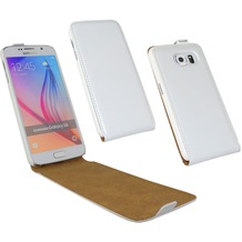 Fontastic Tasche Flip weiß für Samsung Galaxy S6